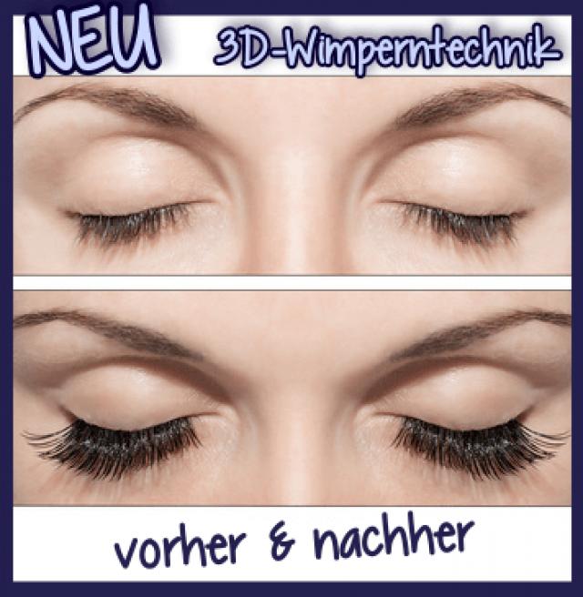3D Wimperntechnik